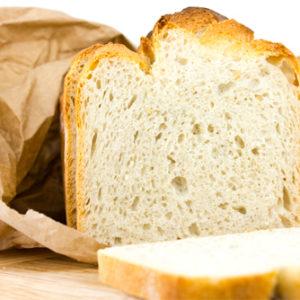 Pane affettato e confezionato